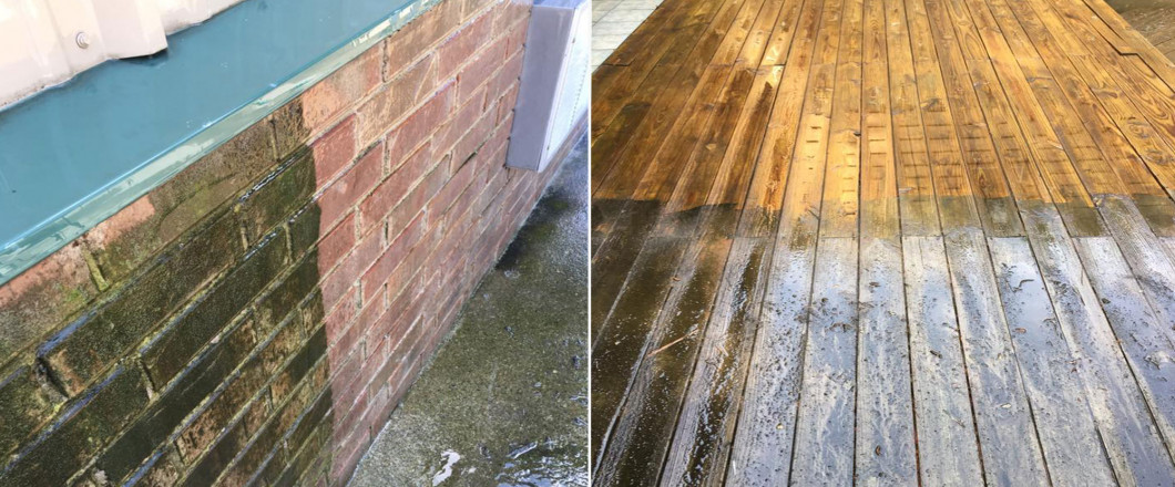 Call for All Your Residential & Commercial Power Washing Needs